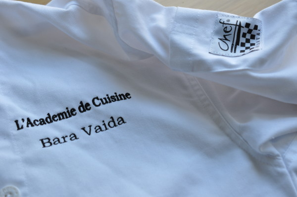My chef's jacket
