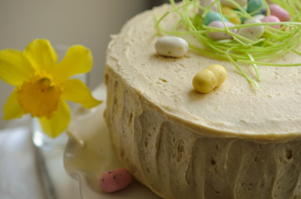 Malted Chocolate Easter Cake